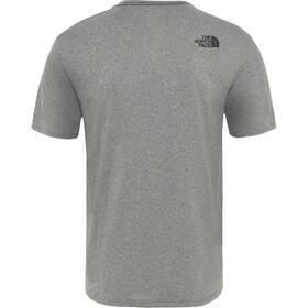 The North Face Train N Logo Hardloopshirt korte mouwen Heren grijs